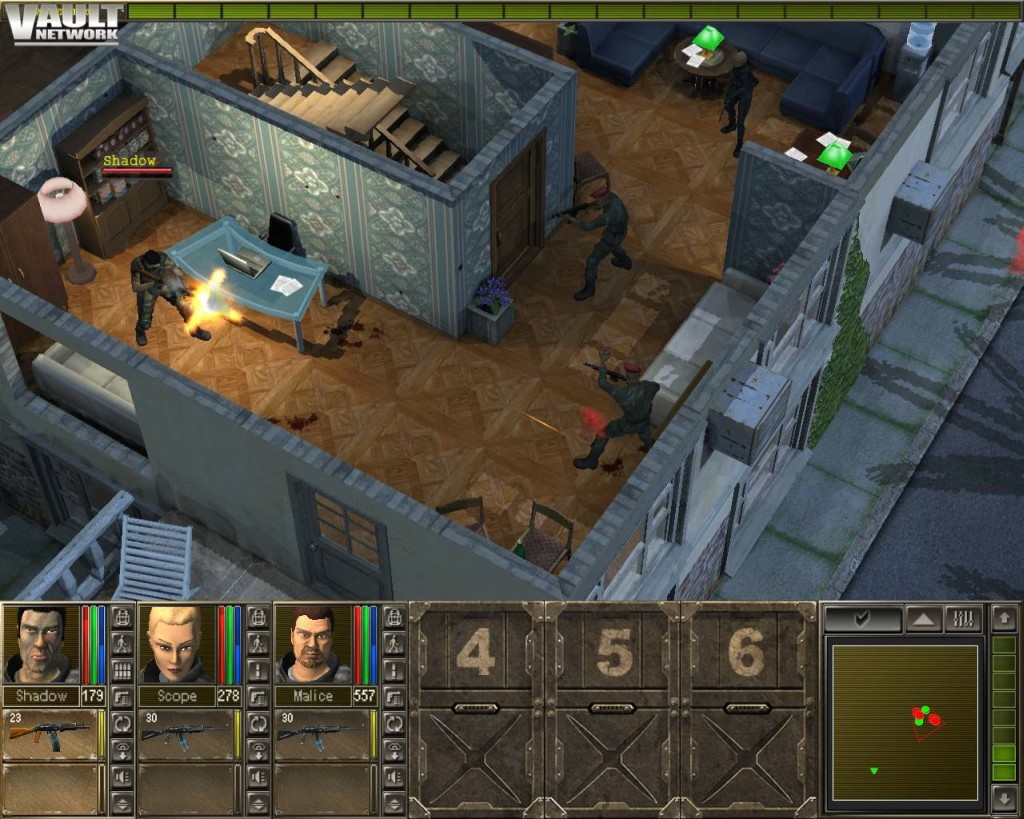 Jagged Alliance 3 - Shadow vs 2