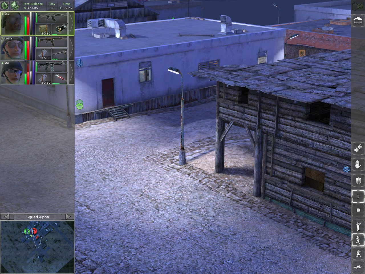 Jagged Alliance: Back in Action - Miasto nocą