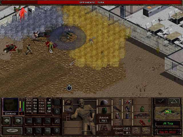 Jagged Alliance 2 - Atak gazem w Tixie